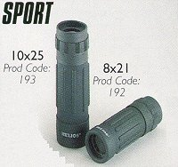 Sport Compact Roof Prism Monoculars