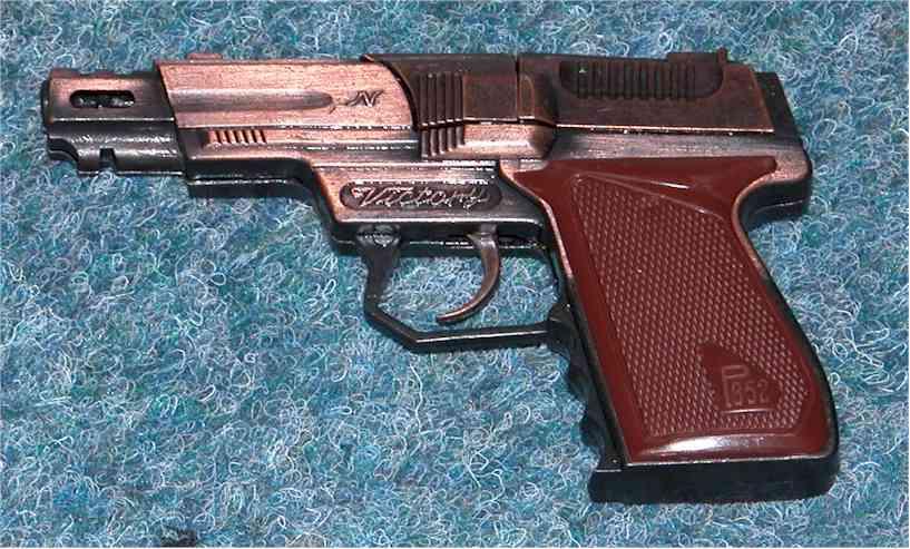 LOUD cap gun, use with caution