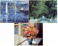 set of 3 jigsaw puzzles