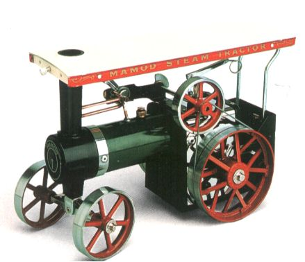 Complete range of Mamod model steam engines both in kit form
