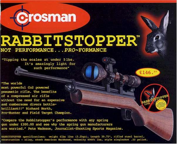 CROSMAN Rabbit Stopper