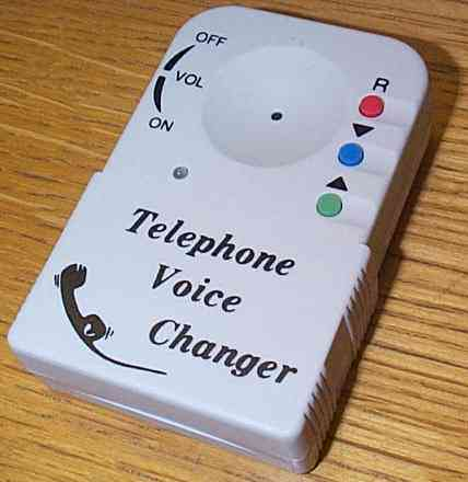 voice changer machine